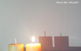 Shadowless candle MbY